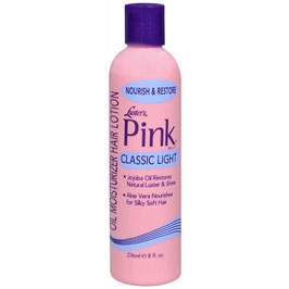 Luster's Pink Classic Light Oil Moisturizer Hair Lotion 355ml.