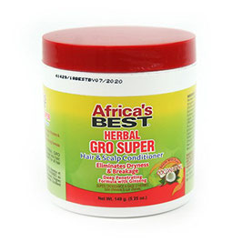 Africa's Best Super Gro Hair & Scalp Conditioner with Coconut oil