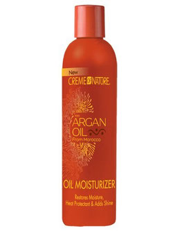 Cream of'Nature Argan Oil Oil Moisturizer 250ml (8,45oz)