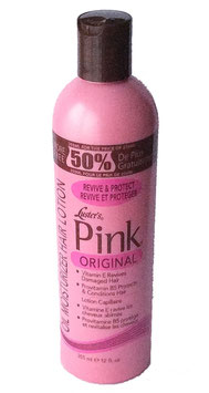 Luster's Pink Original Oil Moisturizer Hair Lotion 355ml.for the price of 236ml.