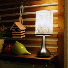 Personalisierte 3D Lampe (eigener Lampenfuss)