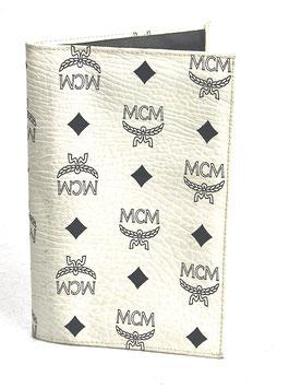 MCM Wallet Weiß Monogramm