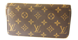 Louis Vuitton Zippy Geldbörse Monogram Canvas