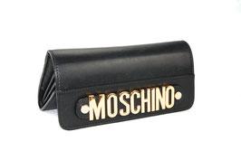Moschino Portemonnaie 'Letter' Schwarz