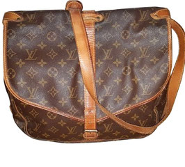 Louis Vuitton Saumur Cross Body Handtasche Monogramm