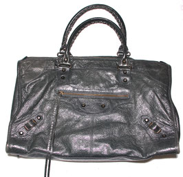 Balenciaga 'City Bag' in Anthrazit