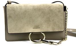 Chloé Faye Small Handtasche Grau