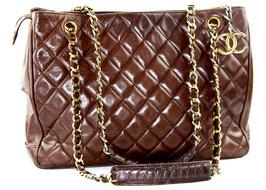 Chanel Shopper Braun