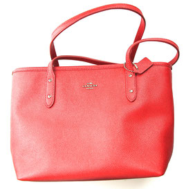 Coach Tote Bag in Rot