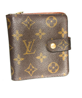 Louis Vuitton Portemonnaie Monogramm Canvas