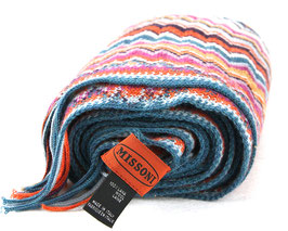 Missoni 100% Wolle Schal Multicolour