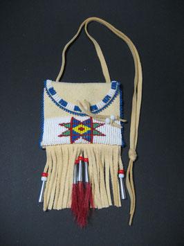 Indianerbrustbeutel mit Siouxstern