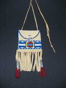 Indianerbrustbeutel mit Cheyenne Muster