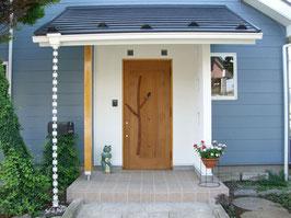 木製玄関ドア kdr-2