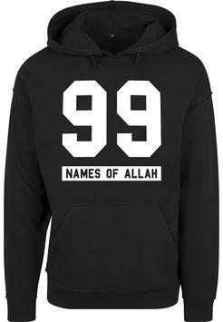99 Names Of ALLAH Hoodie