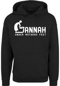 Jannah under Mothers Feet Hoodie
