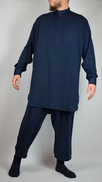 Salwar Kameez Marine blau