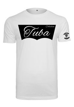 Tuba Design T-Shirt Easy White & Black