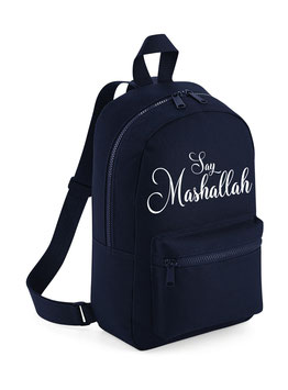 Say Mashallah Ukhti Bag Deep Blue