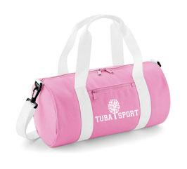 Tuba Sport Bag Pink/ White