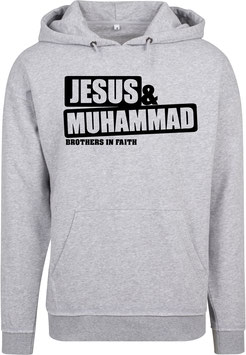 Jesus & Mohammed Brothers in Faith Hoodie