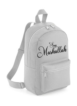 Say Mashallah Ukhti Bag Light Grey