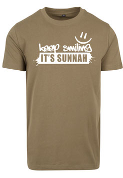 Keep Smiling it`s Sunnah T-Shirt