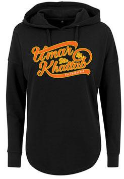 Long Hoodie Black Umar bin Khattab