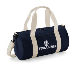 Tuba Sport Bag Blue/ Beige
