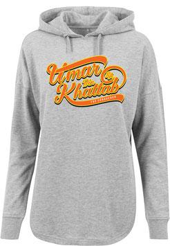 Long Hoodie Grey Umar Bin Khattab