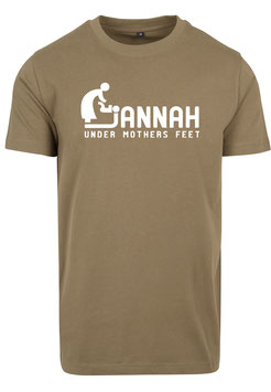 Jannah is under Mothers Feet T-Shirt