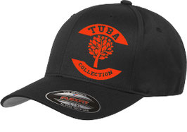 Tuba Flexfit Wooly Combed Schwarz / Rot
