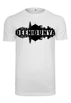 Deen Over Dunya City  T-Shirt
