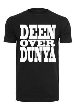 Deen Over Dunya Schrift T-Shirt