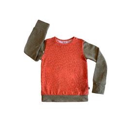 sweater autumn orange