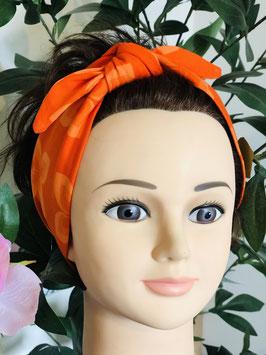 bandana retro oranje