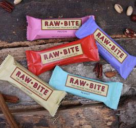 Rawbite Riegel (50g) 6 Sorten Mix