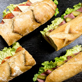 Jumbo Sandwich Mix - 6 Stk. für 6 Personen