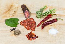 ||  ab Mitte Feb. wieder erhältlich || Rauchwurst Chili + Paprika
