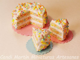 CONFETTI CAKE (Tarta Confetti).