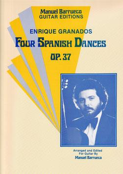 【楽譜】グラナドス 4つのスペイン舞曲(バルエコ編)