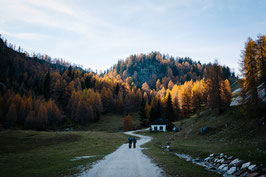 """Alpen im Herbst"" - Print"