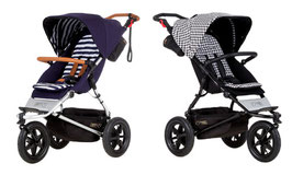 mountain buggy URBAN JUNGLE Luxury Collection: nautical oder pepita