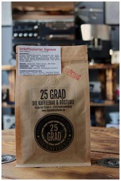 """""""Entkoffeinierter Espresso"""" (100% Arabica)"""