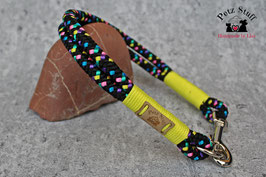 "Tau-Halsband ""Neon Disco"" - HU 46-48 cm"