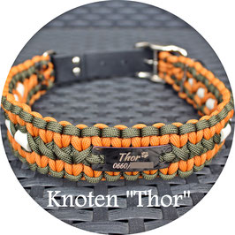"Cord Halsband - Knoten ""Thor"""