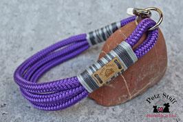"""Tau-Halsband """"Acid Purple"""" - HU 45-47 cm"""