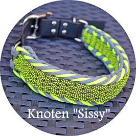 "Cord Halsband - Knoten ""Sissy"""