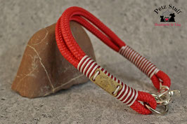 """Tau-Halsband """"Red Candy"""" - HU 38-40 cm"""