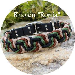 "Cord Halsband - Knoten ""Ronja"""